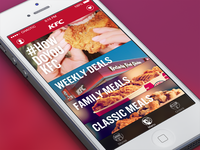 KFC Mobile Ordering iPhone App