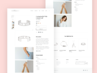 Jewelry concept website design 2
