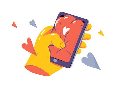 Modern love Pt. 3 love tinder editorial dating adobe photoshop editorial illustration illustration