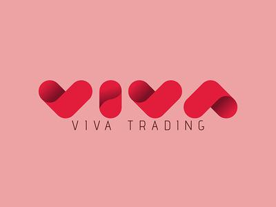 VIVA Trading Co. | UK aes london uk love red brand branding logo trading viva