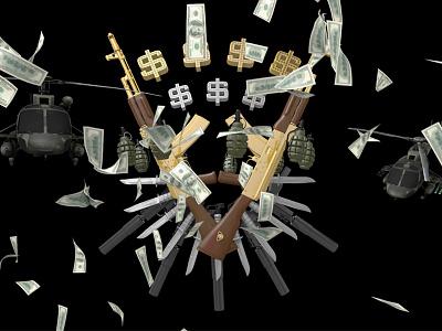 Guns and money guns money c4d gta v helicopter ak47