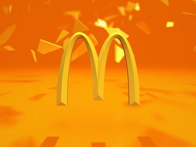 McMotion Graphics c4d mcdonalds touch screen