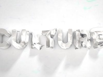 New logo build paper c4d 3d culture22