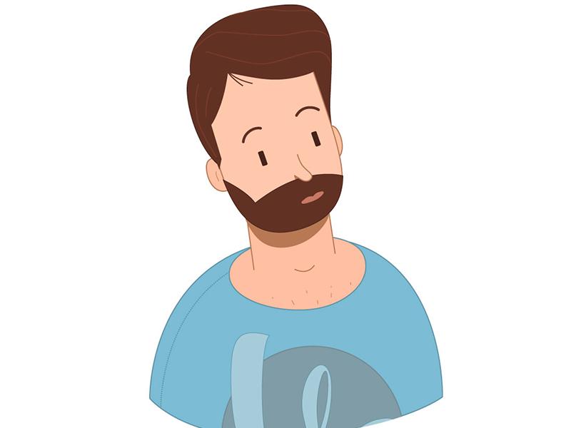 Some Guy mangastudio motiondesign vector illustration character design