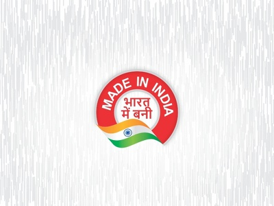 Made In India Tag product tag design