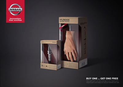 Nissan Genuine Parts print Ad
