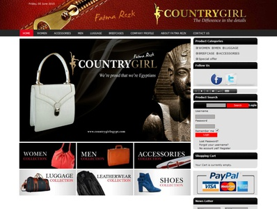 country girl egypt