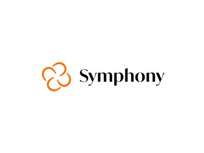Symphony Network – Logo animations concept chicago flat abstract logo flower logo typography design illustration vector branding icon logo