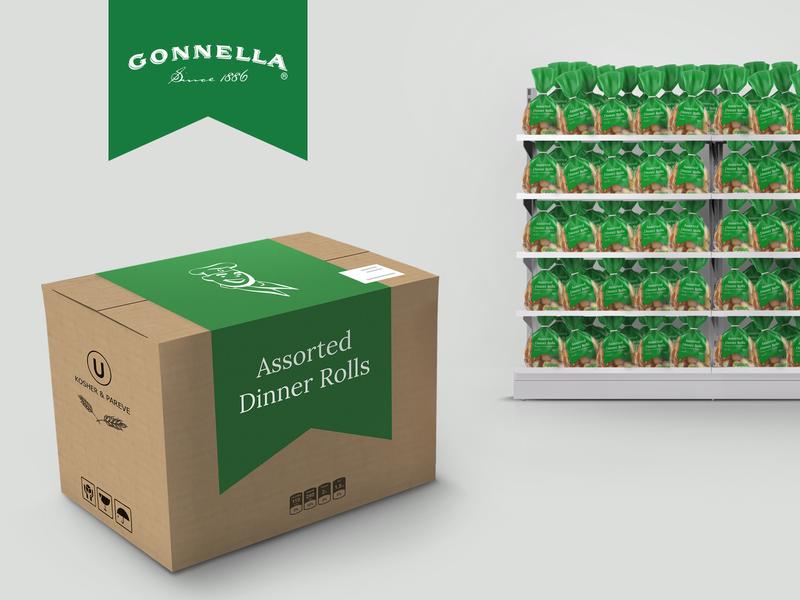 Gonnella – Branding Application fastfood mockups typography chicago flat icon logo marketing branding illustration design
