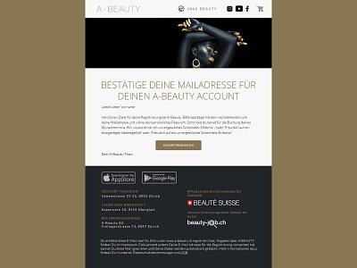 Newsletter Design logo beautylogo beauty css html coding newsletterdesign uiux ux ui design newsletter