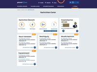 Message Center UI&UX Design