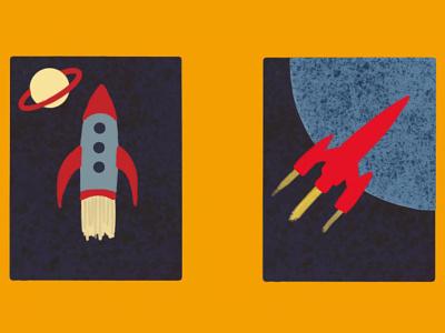 Soviet Inspired Space Posters drawing designs illustrator design adobe fresco adobe sketch adobe illustration brutalism engineering space sssr soviet