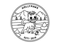 Hollypaws (B&W)