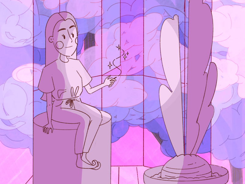 Favourite window of my crystal castle