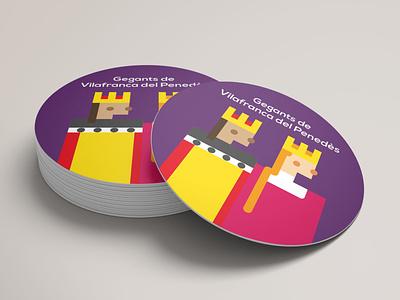 GEGANTS. Pixel Design. design illustration packaging angelspinyol colors illustrator abstract graphicdesign penedes vilafranca festamajor folklore gegants
