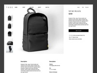 Product Page Design for TSOG Bags
