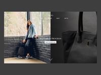 Homepage Design for TSOG Bags