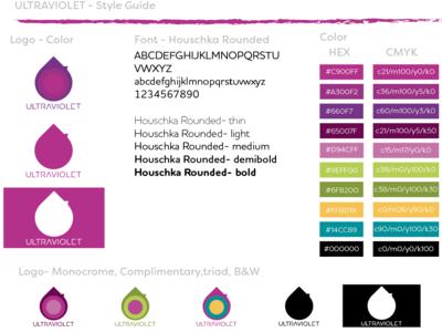 """Ultraviolet"" Logo: Style Guide"