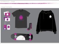 """Ultraviolet"" Logo: Usage Examples"