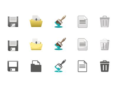 Icon Style Exploration