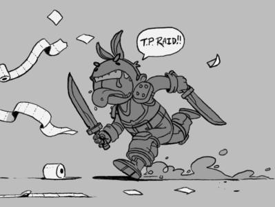 Don't do a TP raid.