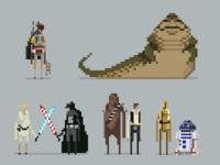 Star wars pixel lineup update