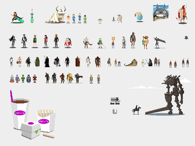 Pixel Art Collection