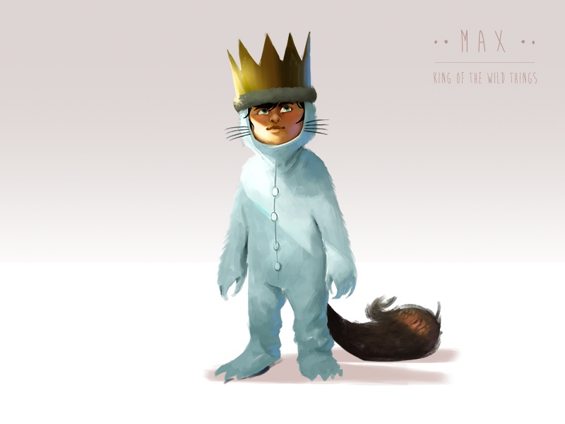 King of the Wild Things max wild things fan art childrens book book story