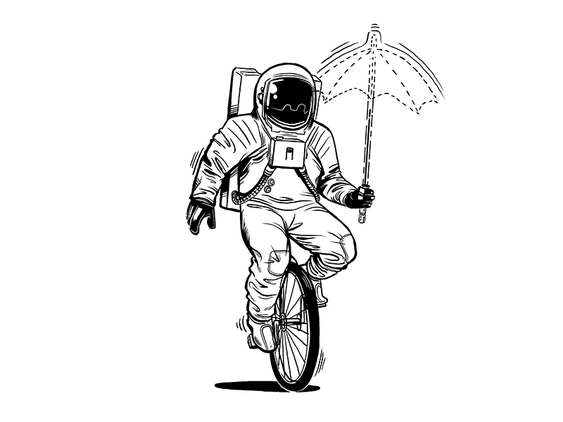 Astronaut By Michael B. Myers Jr. On Dribbble