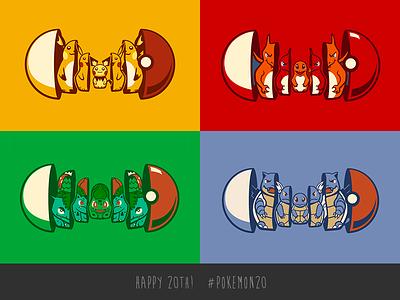 20 years of Pokemon! anniversary pokemon