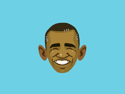 Obama caricature obama president