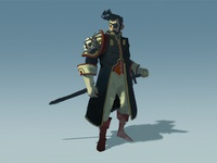 Pirate character concept