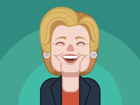 Hillary Clinton illustration