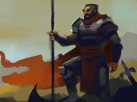 Surviving Warrior speedpaint