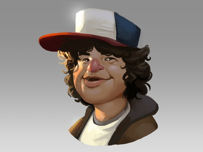 Dustin!!! dustin fan art stranger things