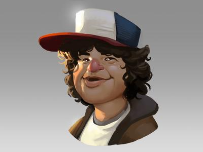 Dustin!!! dustin fan art stranger things