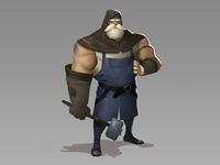 Blacksmith Character Concept