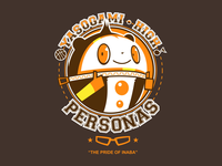 Pride of Inaba - Persona 4 alternate tee design