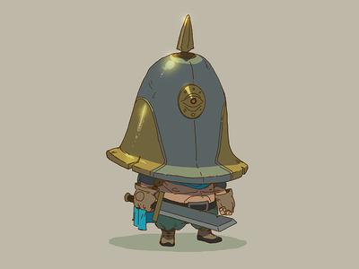 Warmup character