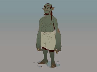 Bath Orc