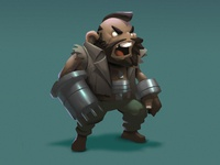 Barret fan art