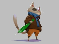 Cat character design