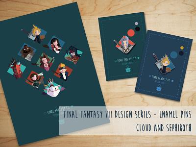 Final Fantasy VII Designer Series Kickstarter Campaign video games rpg ffvii kickstarter