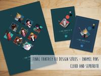 Final Fantasy VII Designer Series Kickstarter Campaign
