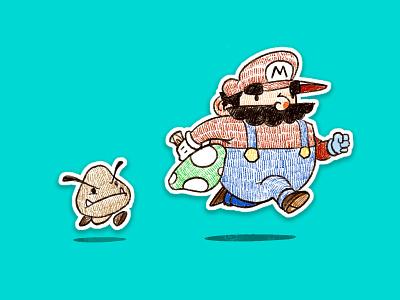 Mario Time! fanart fan art video games mario
