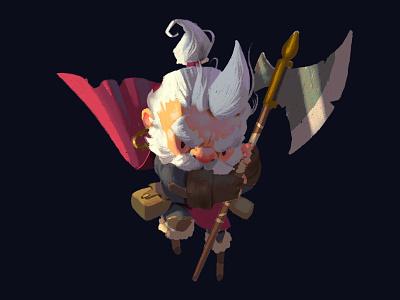 Seasoned Warrior illustration character design characterdesign