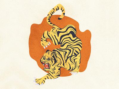 Tiger twirl tiger illustration animal art animal wild animals animals twirl tigers tiger
