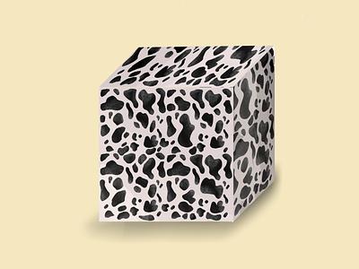 Cow cube animal pattern illustration procreate cubes cube pattern cow pattern cow