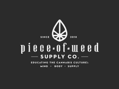 Dribbble Piece of Weed