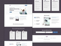 Sobriety-Redesign landing page